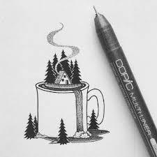 Pen Drawing By Peta Heffernan Inspiration For Pen And Ink Artwork