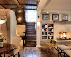 D Finished Basement Love Mantle Built Ins Fireplace And The Rustic Modern  Feel Of This
