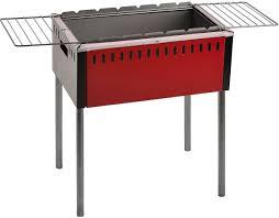 <b>Мангал с откидными решетками</b> Safer, цвет: серый, красный ...
