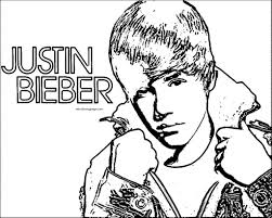 urgent free justin bieber coloring pages