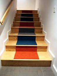 carpet squares for stairs carpet tiles staircase mid sized contemporary carpeted l shaped staircase idea in carpet squares for stairs