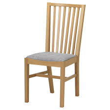 IKEA NORRNS chair Solid oak is a hardwearing natural material which gives  a warm, natural
