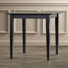 Square Kitchen Letitia Lucille Square Kitchen Dining Table Sleek Shaker Legs