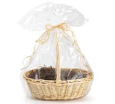 cellophane basket bags