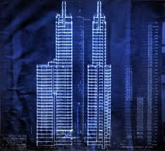 architecture blueprints skyscraper. Brilliant Blueprints Architecture Blueprints Skyscraper Design Drawing And Original  Blueprint Hectographs Of Chicagos 1st Loop Skyscapers Skyscraper R