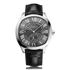 mens cartier watches the watch gallery cartier drive de cartier automatic stainless steel black dial mens watch wsnm0009