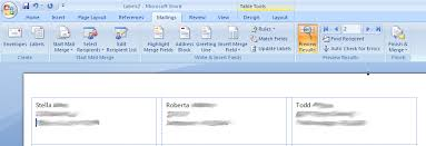 Labels Mail Merge Repeats On Subsequent Pages Super User