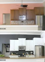 painting kitchen cabinets before and afterKendall Charcoal Kitchen Cabinets  colorviewfinderco