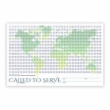 Amazon Com World Missionary Countdown Sheet Sister Lds
