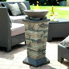 outdoor fire column best prefab pits images on life target gas propane for patio yard deck