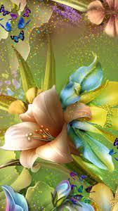 Butterfly Flower Wallpaper For Mobile ...