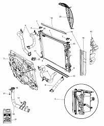 Radiator related parts for 2009 chrysler town country 2002 chrysler town and country engine chrysler town and country radiator diagram