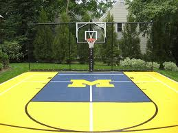 backyard ideas basketball court. backyard small basketball court ideas