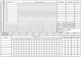 Cricket Score Sheet 20 Overs Excel 5 Cricket Score Sheets Excel Word Excel Templates