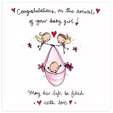 Congratulations On The Arrival Of Your Baby Girl