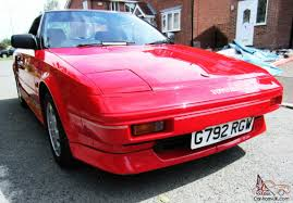 MR2 MK1 Coupe Possibly the best in UK 47000 mls 1990 Beautiful,