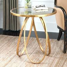 metal glass end tables end tables