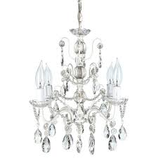white shabby chic chandelier best of plug in stock mini