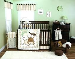 jungle crib bedding sets safari crib bedding set baby jungle crib bedding the monkey 3 crib bedding set baby girl