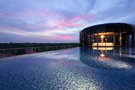 infinity pool singapore hotel. Park Hotel Alexandra: Infinity Pool - Night View Singapore