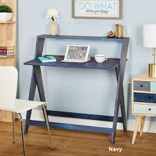Simple Living Scissors Study Table - Free Shipping Today - Overstock.com -  23401901