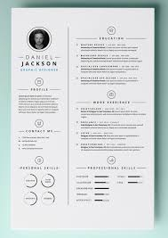 Pages Resume Template Delux Photograph Blank Cv 4 Page 1 Ultimate ...