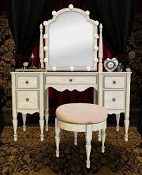 vanity table lighting. dressing room vanity table with light up mirror perfume and cosmetics set b lighting