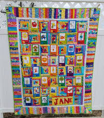 Friday Finish: ABC Panel Baby Quilt | Jo's Country Junction & Baby-quilt-09 Adamdwight.com
