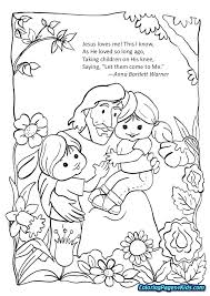 The Best Jesus Loves Me Colouring Page Montenegroplaze Of Printable