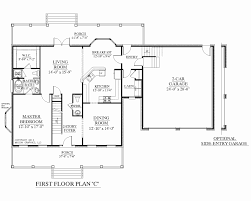fresh 3 car garage 1 story house plans plan magnificent 2 floor with