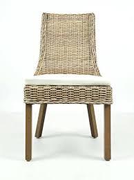 rattan dining chair cushions 2 hton road coastal solid wood rattan dining chairs w cushion rattan
