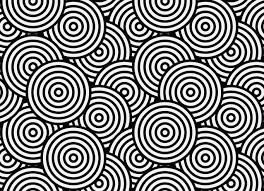 hula circle pattern flooring black vinyl flooring