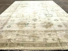 12 x 18 persian rugs area rug contemporary new hand knotted wool woven ivory o muted