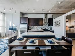 installing light in concrete ceiling recessed lighting ceilings apartment interior design kitchen and dining room exposed