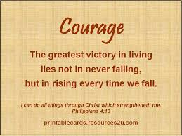 Christian Quotes On Courage
