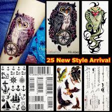 4768 руб 10 скидка1 шт модные временные татуировки стикеры для мужчин и женщин на