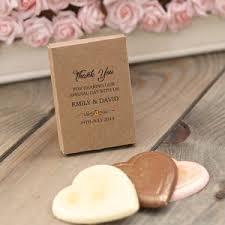 kraft personalised chocolate wedding favour gift bo