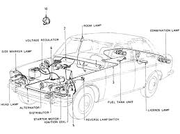 datsun wiring diagram and cable harness schematic