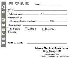 Texas Med Clinic Doctors Note Free Printable Work Excuses Free Printable Doctors Excuses