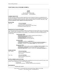 Example Of Qualifications For Resume Skills Based Resume Example