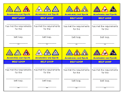 Cards for Belt Loops | Scouts - Cub Scouts | Pinterest | Cards and ...