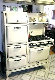 vintage retro kitchen appliances ge style refrigerators looking new antique