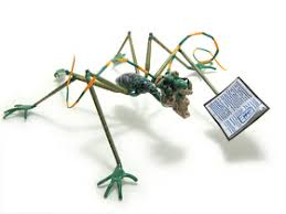 Bliss St.: Glass Insects by artist Wesley Fleming.