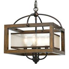 lighting fixtures long island. Square Wood Frame And Sheer Ceiling Light Rustic Pendant Lighting Stores Long Island Modern Fixtures P