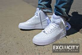 nike air force 1 high 07 white on white review af1 white