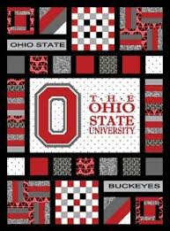 Oklahoma State University Quilt Kit. Great gift for your bro ... & Ohio State Buckeyes Team Spirit Quilt Pattern. Includes applique pattern  design tutorial to create your Adamdwight.com
