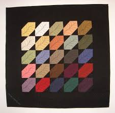 301 best Amish quilts images on Pinterest   Miniatures, Auction ... & Wall quilt by Melissa Marginet 2007. Adamdwight.com