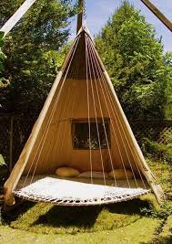7 diy outdoor swings that make warm nights even better