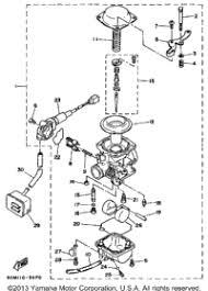 1987 yamaha riva 125 xc125t oem parts babbitts yamaha partshouse carburetor