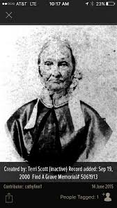Sarah Jane Sally Hornbuckle, our 4 Th great grandmother. She was the mother  of Mary Polly Simpson Marrs, mother … | Family genealogy, Grave memorials,  Family roots